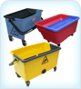 Commercial Flat Mop Buckets