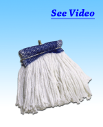 Baseboard Mop Blue Top 10 OZ