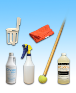JL Hard Floor Spot Cleaning KIT with Tennis Ball