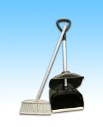 JL Lobby Dust Pan & Broom PLASTIC