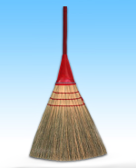 THE ORIGINAL AIRLIGHT BROOM HEAVY DUTY / LIGHT WEIGHT 56""